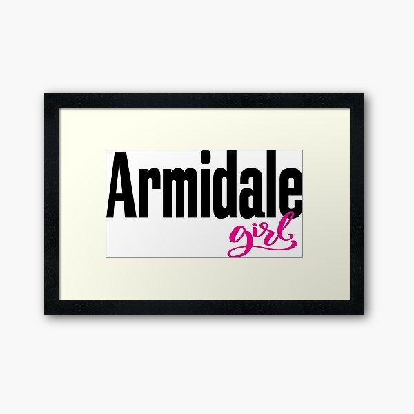 Armidale Girl New South Wales Australia Raised Me Framed Art Print