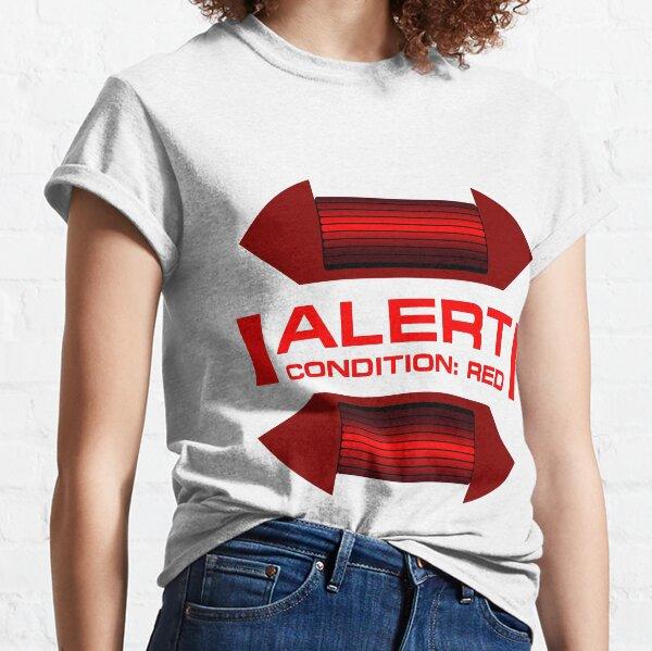 RED ALERT: Star Trek and Beyond Classic T-Shirt