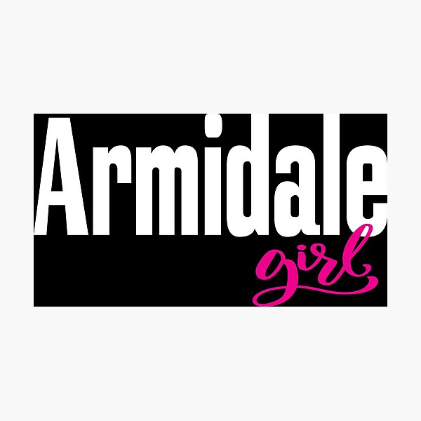 Armidale Girl New South Wales Australia Raised Me Photographic Print