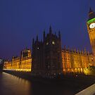 Houses of Parliament, London, UK by strangelight