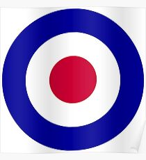 Roundel of the Royal Air Force Poster