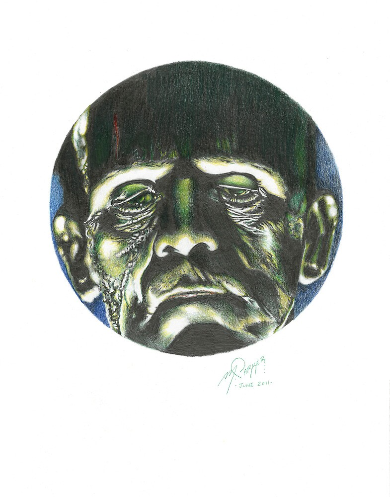 FRANKENSTEIN'S MONSTER by Marty  Parker