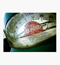 Retro Parking Meter 01 Photographic Print