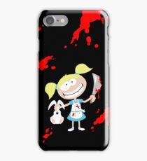 Psycho Girl - Black iPhone Case/Skin