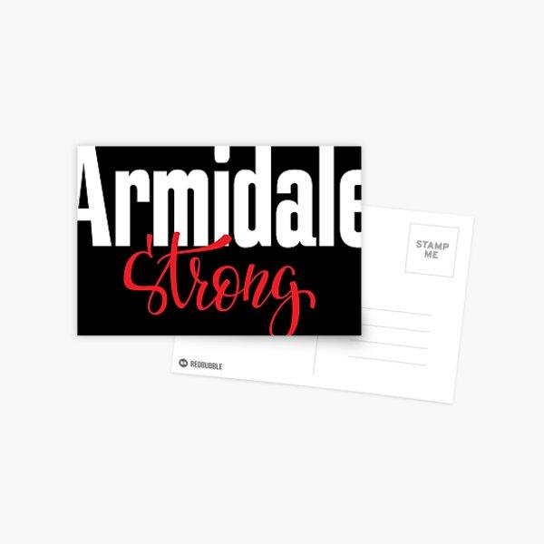 Armidale Strong New South Wales Australia Raised Me Postcard