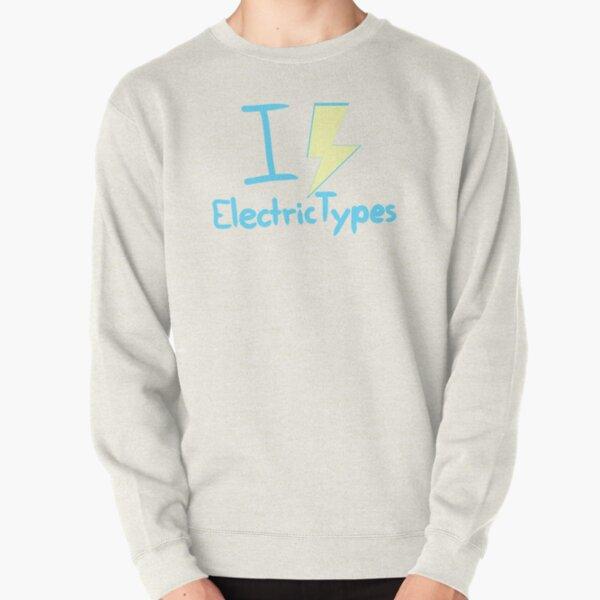 I <3 Electric Types Pullover Sweatshirt