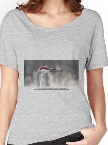 Crane Head Women's Relaxed Fit T-Shirt