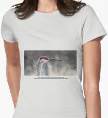 Crane Head Women's Fitted T-Shirt