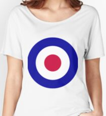 Roundel of the Royal Air Force Women's Relaxed Fit T-Shirt
