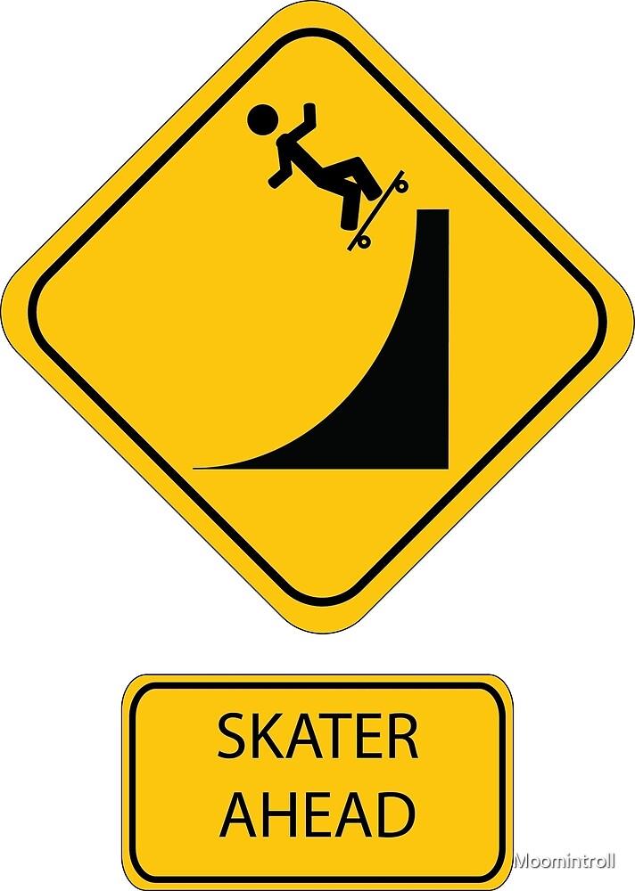 Skater Ahead by Moomintroll