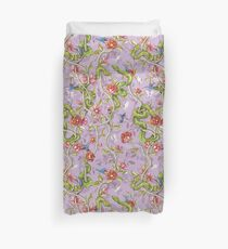 Morning Song - lavender Duvet Cover
