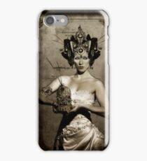 The Pale, from the Black Cat & Poisoned Tea Society iPhone Case/Skin