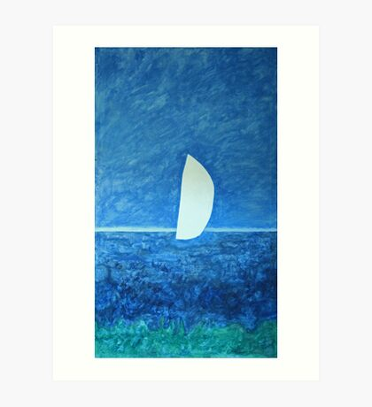 Ghost Sail Art Print