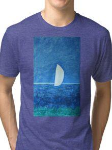 Ghost Sail  Tri-blend T-Shirt