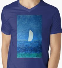 Ghost Sail  Men's V-Neck T-Shirt
