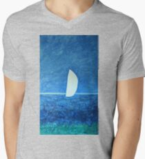 Ghost Sail  Mens V-Neck T-Shirt