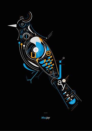 Bluejay by Petros Afshar