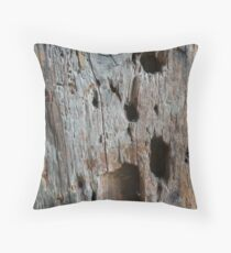Wood no.1 Throw Pillow