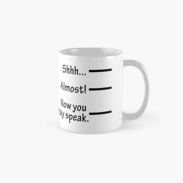 Funny Coffee Mug Design Classic Mug