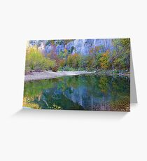 Autumn on Steel Creek,  Buffalo National River Greeting Card