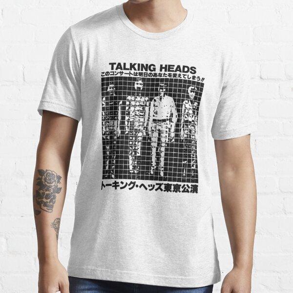 Talking Heads Japan Tour Camiseta esencial