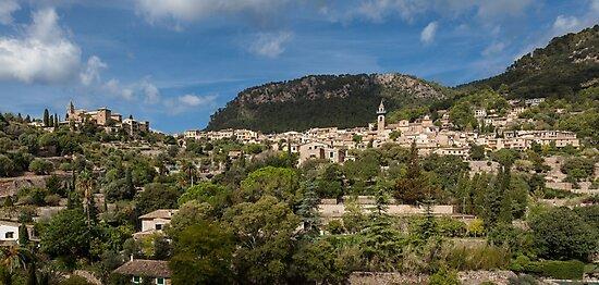 Valldemossa village Mallorca by Leighton Collins