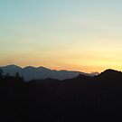 Mount Baldy At Sunset by Bearie23
