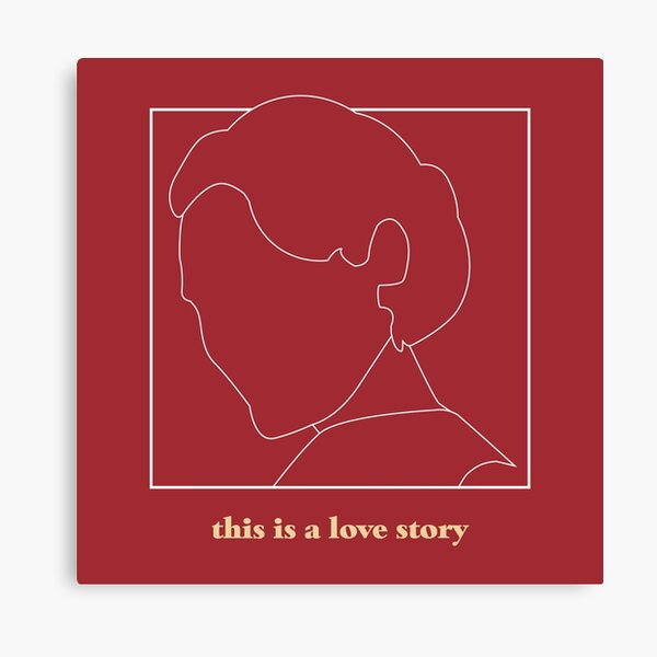 Fleabag - This Is A Love Story  Canvas Print