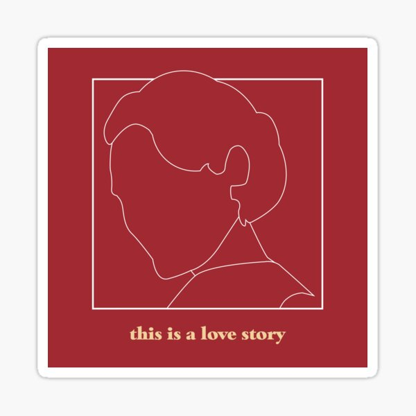 Fleabag - This Is A Love Story  Sticker