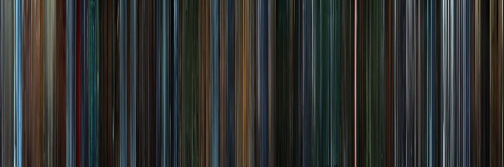 Moviebarcode: X-Men II (2003) by moviebarcode