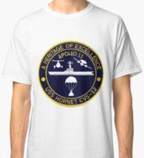 "USS Hornet CVS-12 ""Official"" Apollo 11 Recovery Crest Classic T-Shirt"