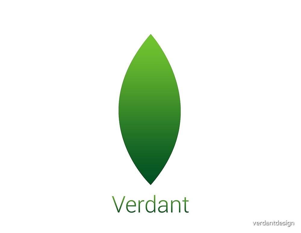 Verdant Logo (.PNG with Text) by verdantdesign