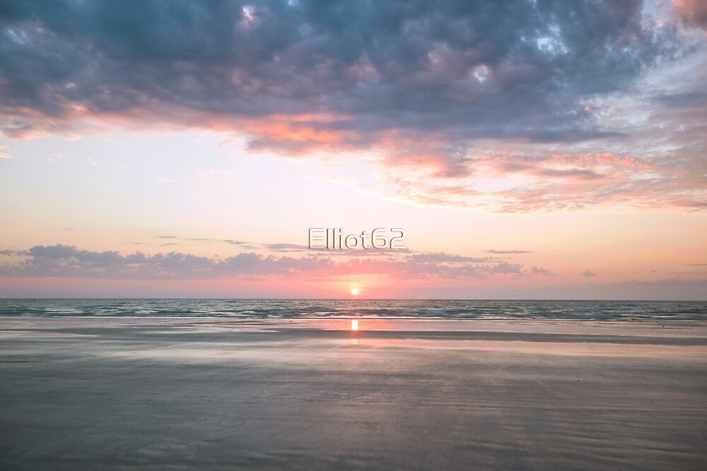 cable sunset sun by Elliot62