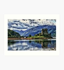 Eilean Donan The Castle (Best view large) Art Print