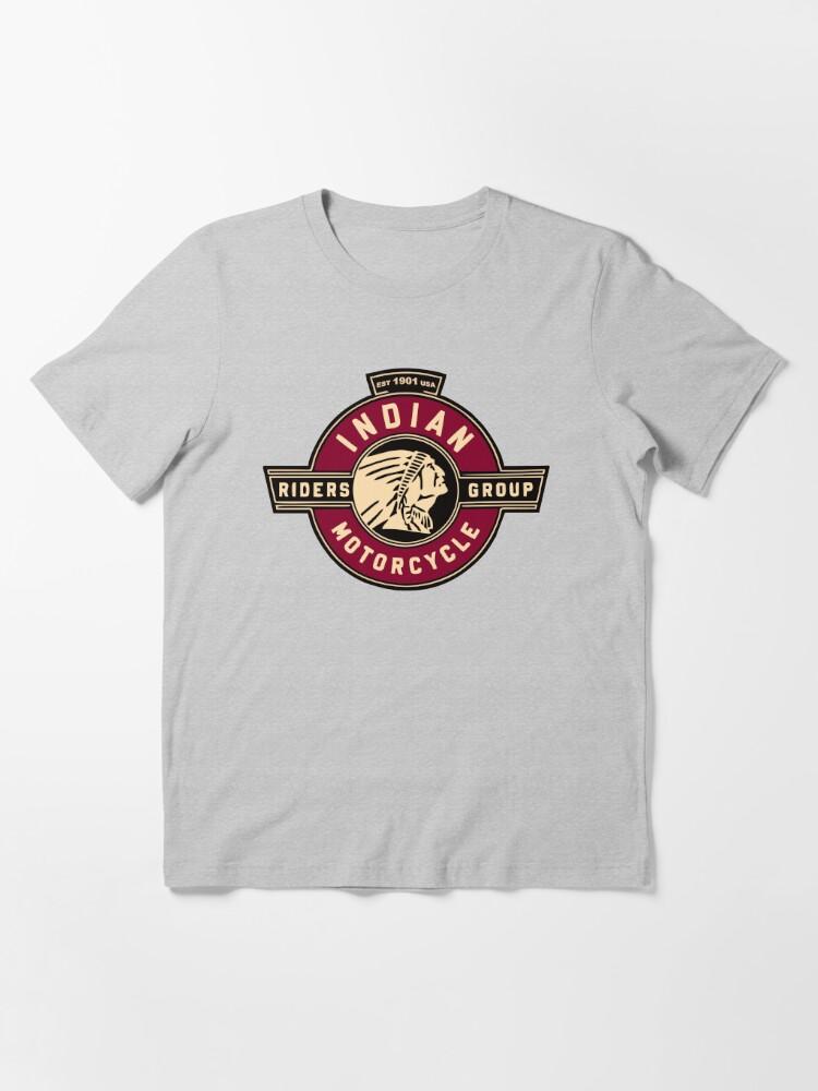 Alternative Ansicht von Indische Motorradfahrer Essential T-Shirt