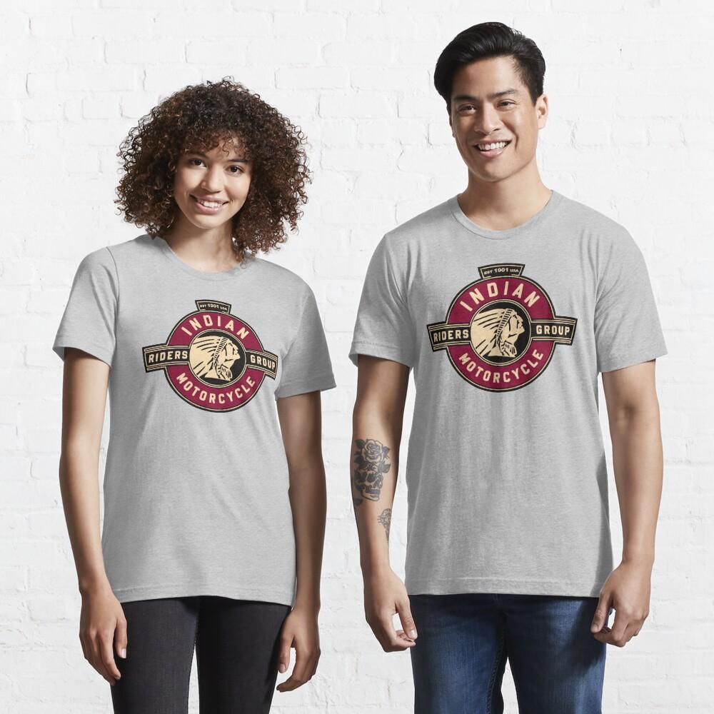 Indische Motorradfahrer Essential T-Shirt