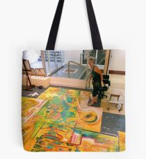 Working on The Essence of Perth 3 Tote Bag
