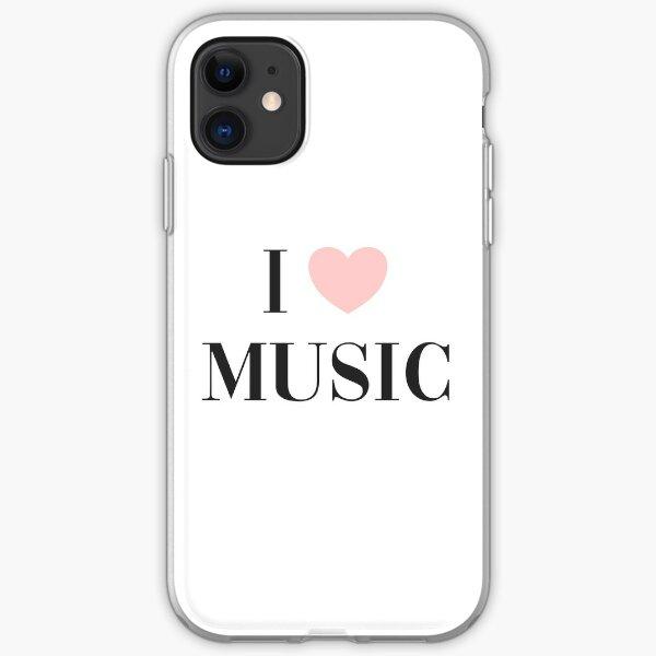I love music  iPhone Soft Case