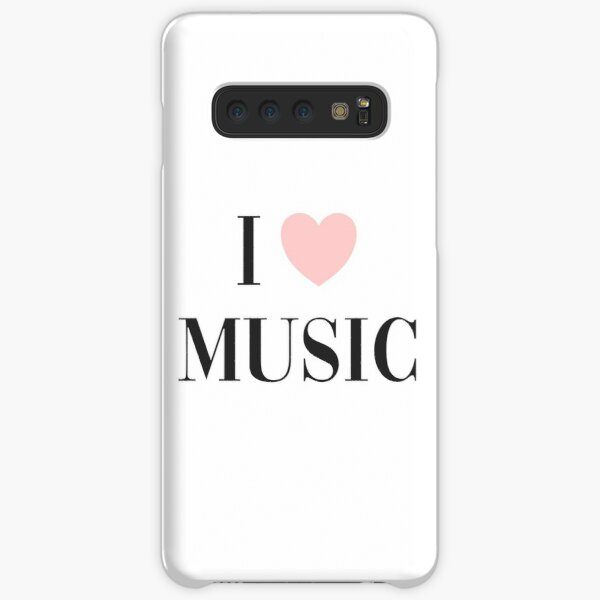 I love music  Samsung Galaxy Snap Case