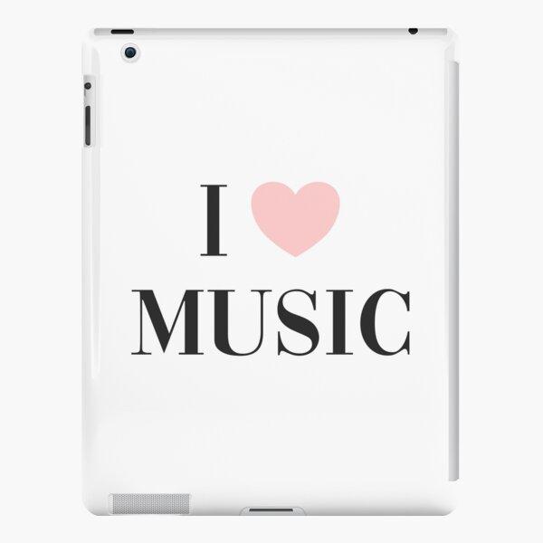 I love music  iPad Snap Case