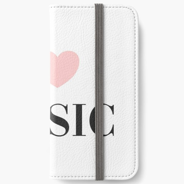 I love music  iPhone Wallet