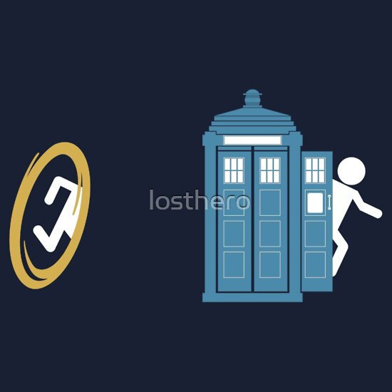 TShirtGifter presents: Portal Who