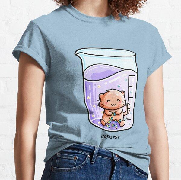 Catalyst Cute Chemistry Cat Pun Classic T-Shirt