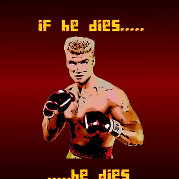 Ivan Drago iPhone 4/4S case by vagelisgeo