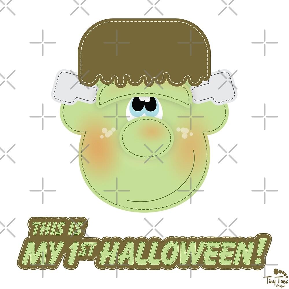 My 1st Halloween Cute Monster by BadCatDesigns