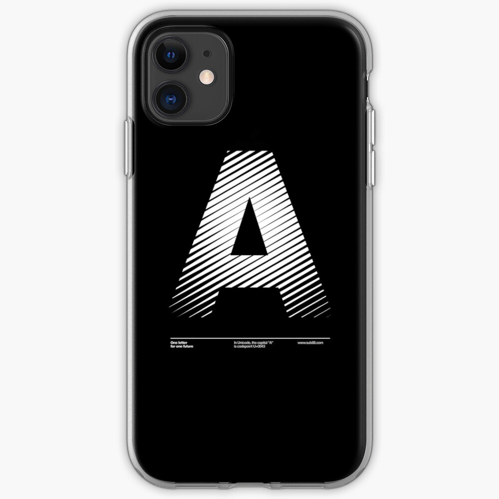 The letter A iPhone Case & Cover