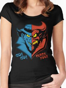 GADGET VS CLAW Women's Fitted Scoop T-Shirt