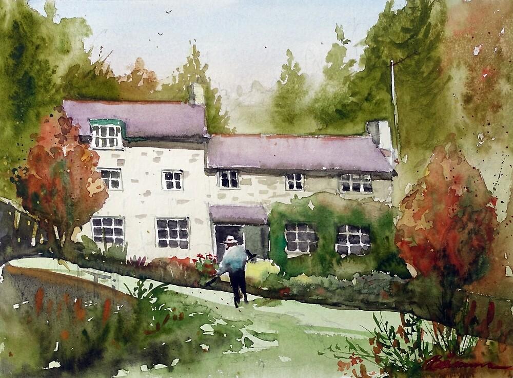 Marrington Mill, Shropshire, England by bakuma