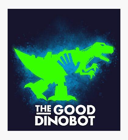 The Good Dinobot Photographic Print