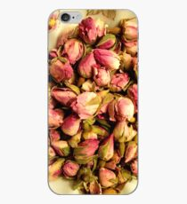 Rose Buds in a Bowl iPhone Case